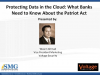 The Patriot Act and Protecting Data in the Cloud