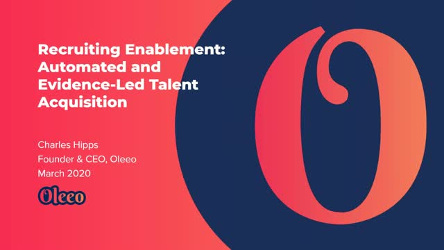 Recruiting Enablement  The Datafication of Recruitment