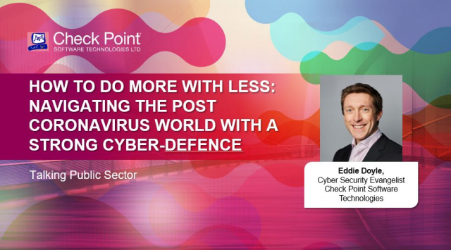 Public Sector: Navigating the post-coronavirus world with a strong cyber-defence