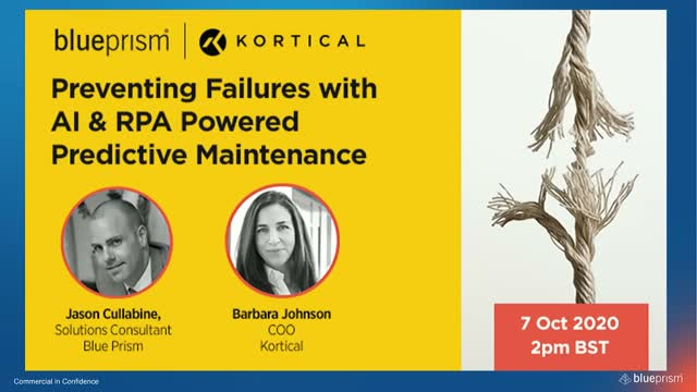 Preventing Failures with AI & RPA Powered Predictive Maintenance