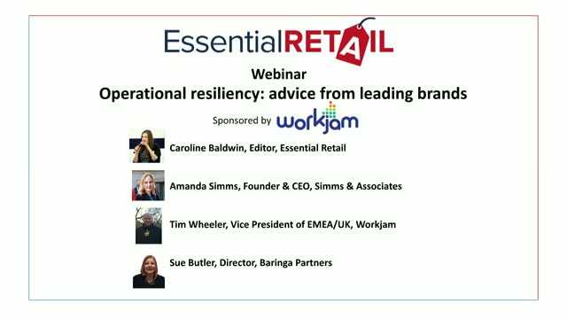 Operational resiliency: advice from leading brands