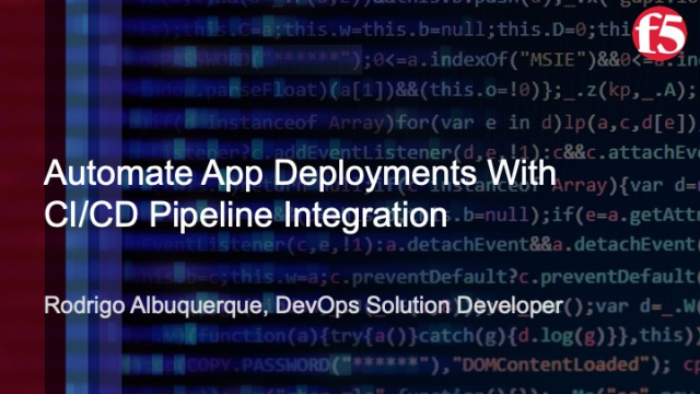 Automate App Deployments with CI/CD Pipeline Integration
