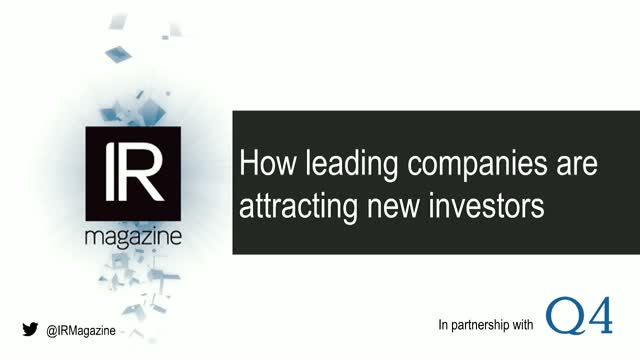 Webinar – How leading companies are attracting new investors