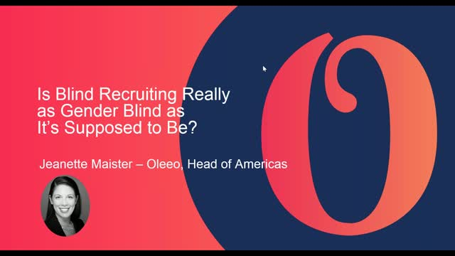 Is Blind Recruiting Really as Gender Blind as It's Supposed to Be?