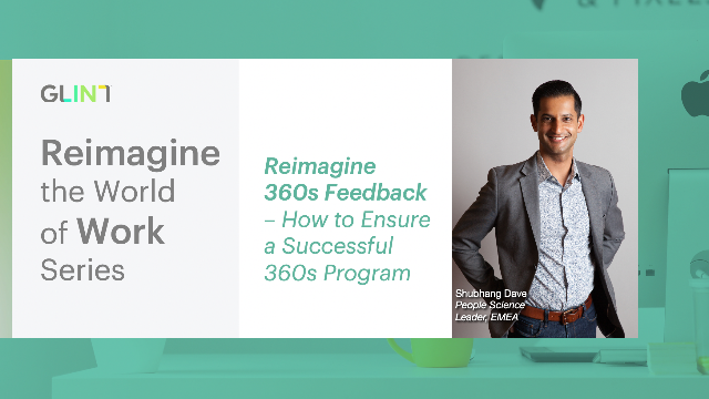 Reimagine 360s Feedback - How to Ensure a Successful 360s Program