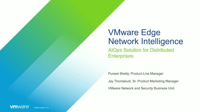 Get a Rich Client Experience with AIOps Solution from Edge Network Intelligence