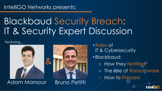 Blackbaud Security Breach: IT & Security Expert Discussion