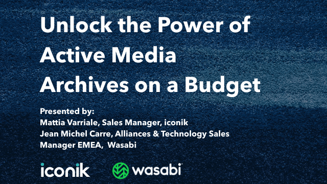 Unlock the Power of Active Media Archives on a Budget