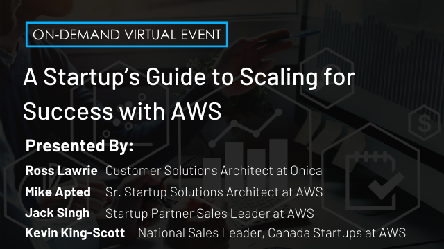 A Startup's Guide to Scaling for Success with AWS