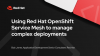 Using Red Hat OpenShift Service Mesh to manage complex deployments