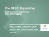 The XBRL Imperative: What Controllers Need to Know About XBRL Detail Tagging