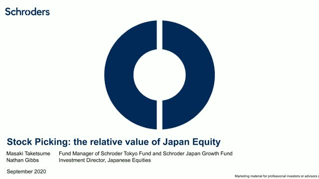 Stock Picking: the relative value of Japan