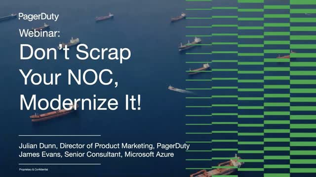 Don't Scrap Your NOC, Modernize It!