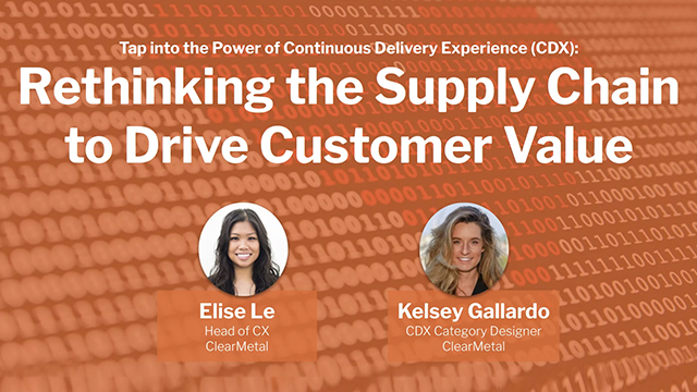 Rethinking the Supply Chain to Drive Customer Value