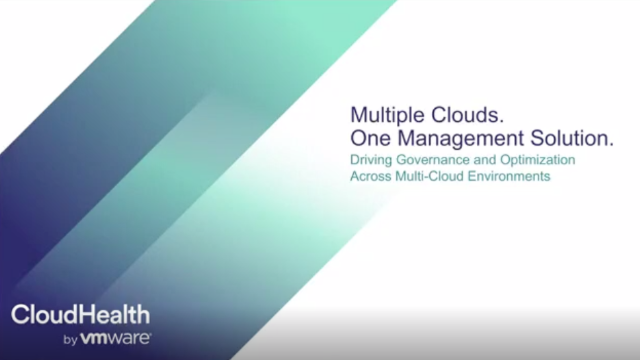 Multiple Clouds. One Solution. Driving Governance and Optimization in the Cloud