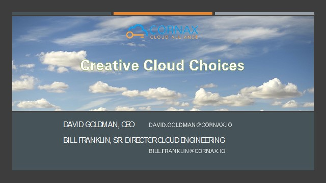 Creative Cloud Choices