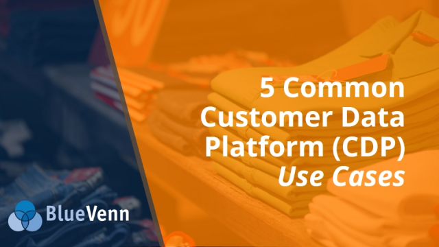 5 Common Customer Data Platform (CDP) Use Cases