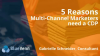 5 reasons multi-channel marketers need a CDP