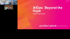 AIOps – Beyond the Hype