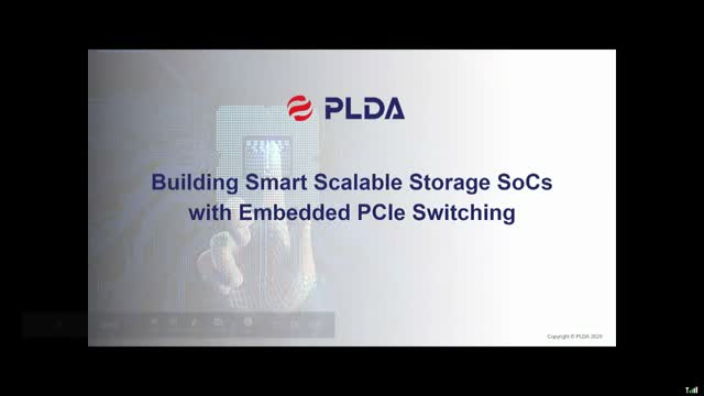 Building Smart Scalable Storage SoCs with Embedded PCIe Switching