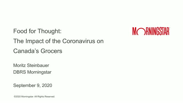 Food for Thought: The Impact of the Coronavirus on Canada's Grocers