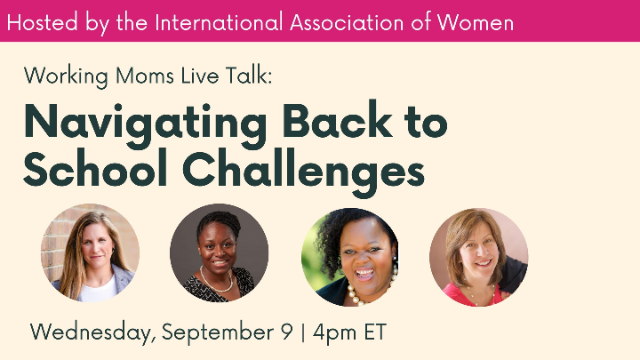 Working Moms Panel Discussion: Navigating Back to School Challenges