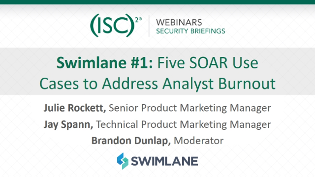 Swimlane #1: Five SOAR Use Cases to Address Analyst Burnout