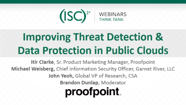 Improving Threat Detection & Data Protection in Public Clouds