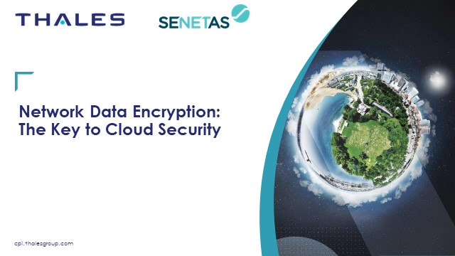 Network Data Encryption: The Key to Cloud Security