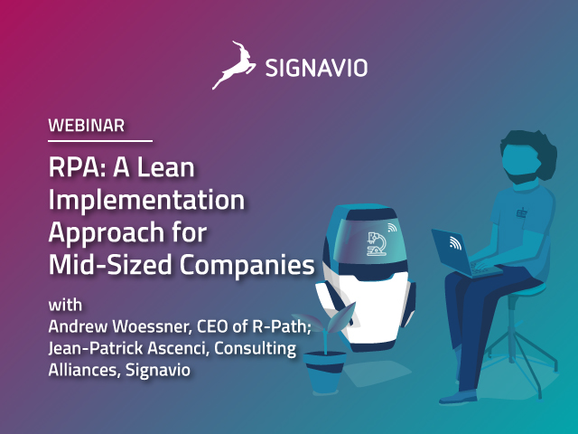 RPA: A Lean Implementation Approach for Mid-Sized Companies