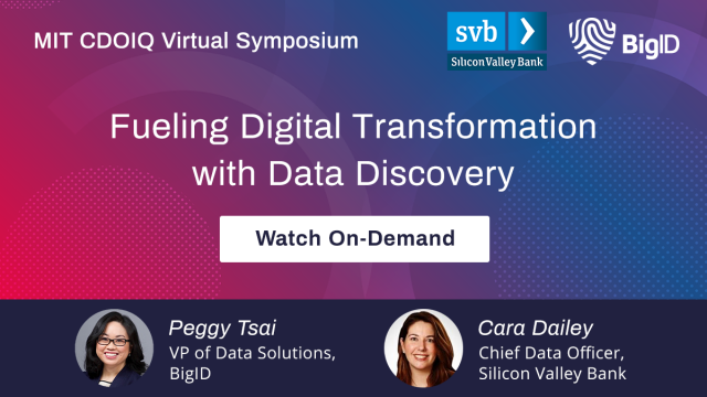 Fueling digital transformation with data discovery