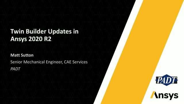 Twin Builder Updates in Ansys 2020 R2