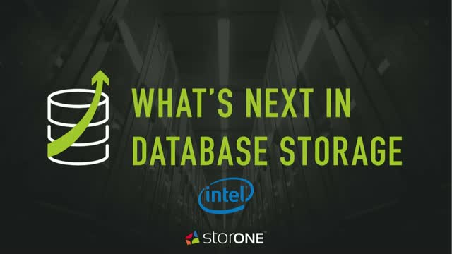 What's Next in Database Storage?