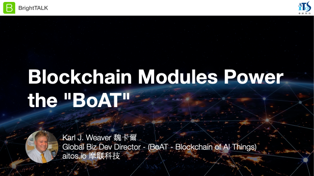 "Blockchain Modules Power the ""BoAT"""