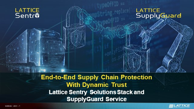 End-to-end Supply Chain Protection with Dynamic Trust