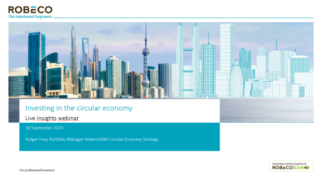 Investing in the circular economy
