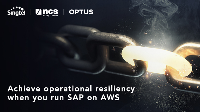 Achieve operational resiliency when you run SAP on AWS