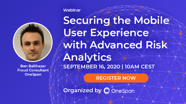 Securing the Mobile User Experience with Advanced Risk Analytics
