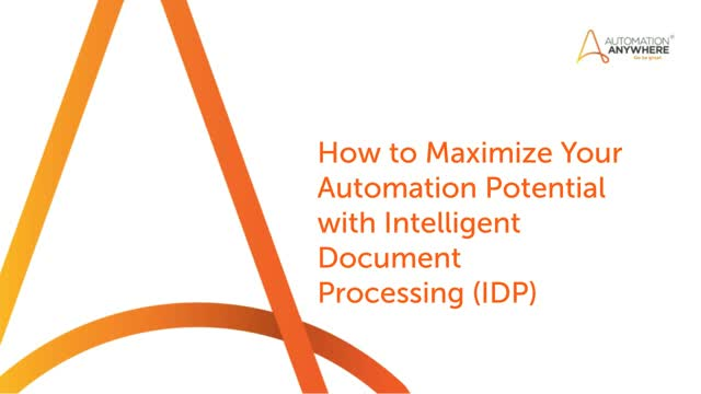 Accelerating Data-Centric, End-To-End Business Processes Intelligent Automation