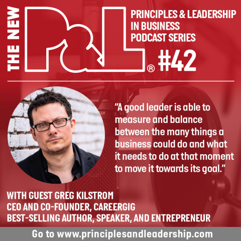 The New P&L speaks to CareerGig CEO & best-selling author, Greg Kihlström