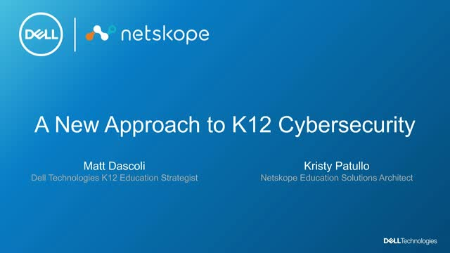 A new approach to K12 Cybersecurity