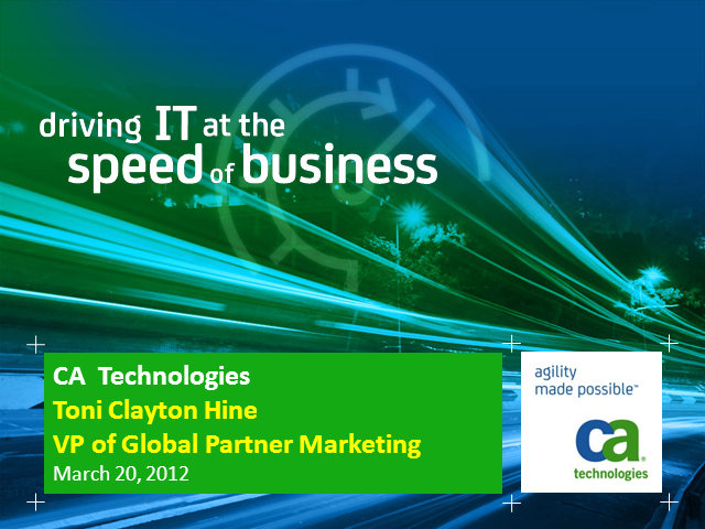 Driving Channel Marketing at the Speed of Business
