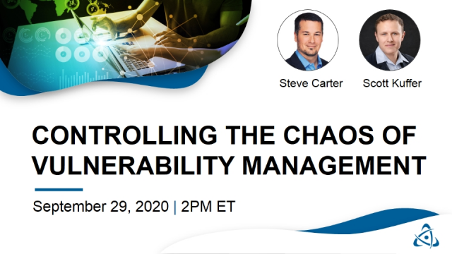 Controlling the Chaos of Vulnerability Management