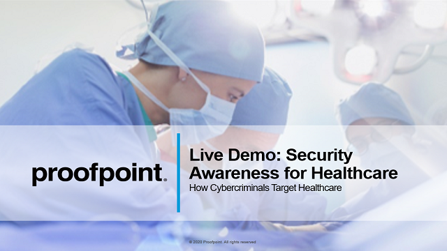 Live Demo: Security Awareness Training for Healthcare