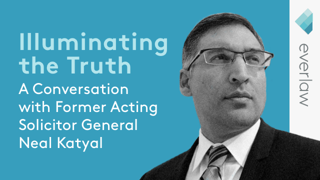 Illuminating the Truth: A Conversation with Neal Katyal