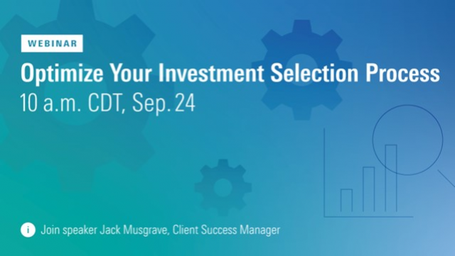 Optimize Your Investment Selection Process