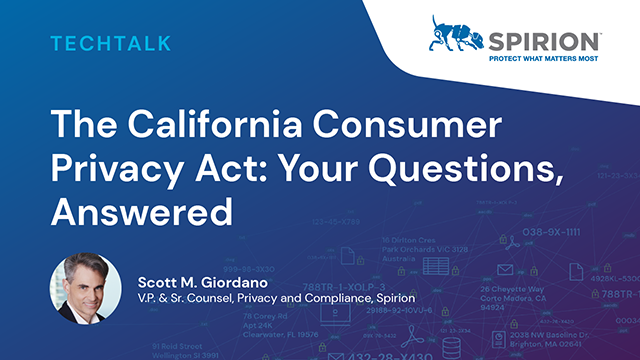 The California Consumer Privacy Act: Your Questions, Answered