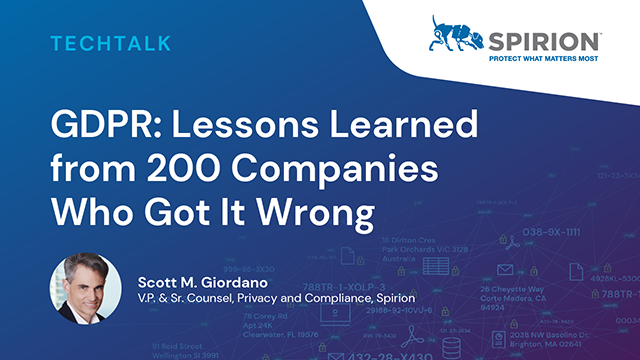 GDPR: Lessons Learned From 200 Companies Who Got It Wrong