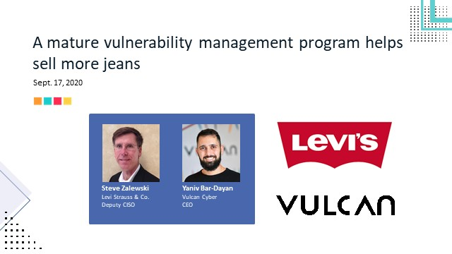 A mature vulnerability management program helps sell more jeans