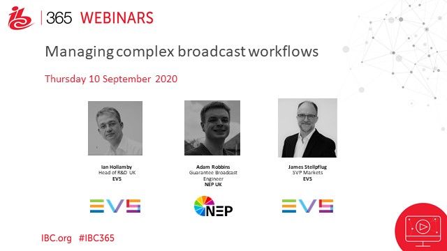 How NEP UK is using Cerebrum control for managing complex broadcast workflows.